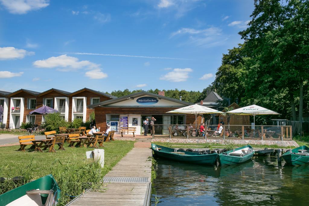 Unsere Boote auf dem Fischerhof in Eldenburg :: Bootsverleih :: Müritzfischer