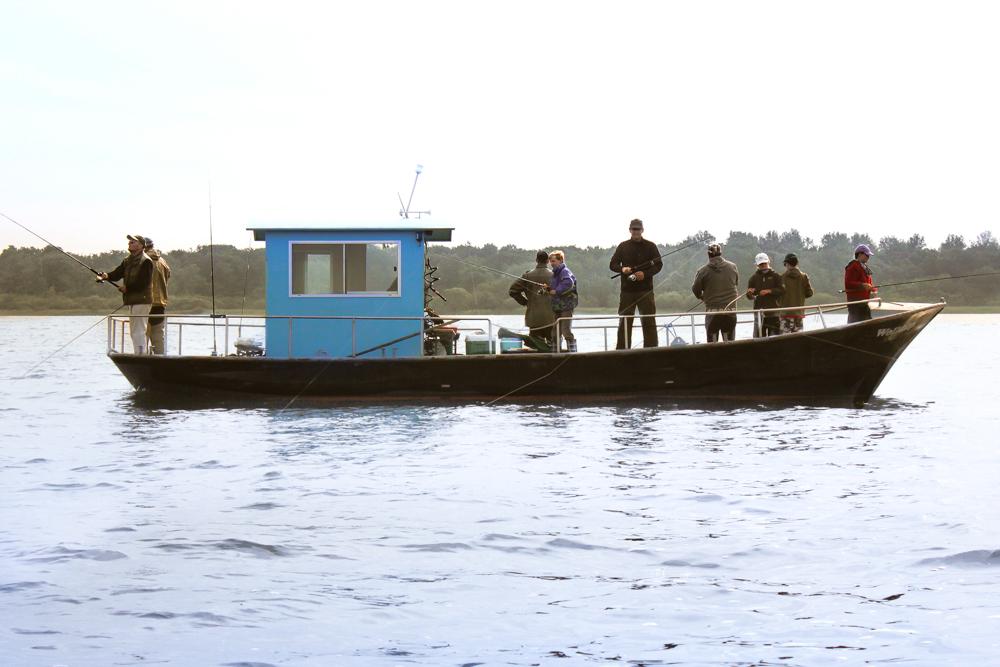 Geführte Angeltouren auf den Großseen :: Über 70 Gewässer mit einer Angelkarte :: Müritzfischer