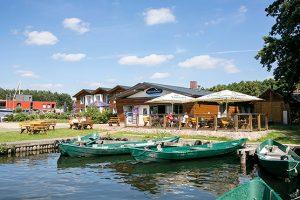 Ein Fischerhof mit dem kompletten Angebot. :: Fischerhof Eldenburg :: Müritzfischer