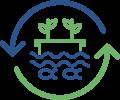 Kreislauf-Fischzuchtanlage (Aquakultur) in Becken mit ca. 26 m³ Volumen